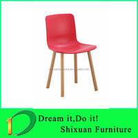 lounge design restaurant dining plastic shell chair