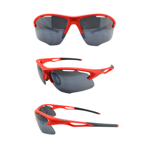 Wholesale OEM Sporty Custom Brand Your Own Cycling Polarized Safety Sports PC Sunglasses for Men