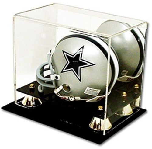 BCW Deluxe Acrylic Mini Helmet Display with Mirror showcase holder case cube