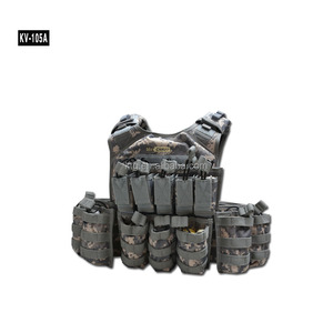 Airsoft adjustable tactical military vestMilitary airsoft molle assault tactical vest black wholesale
