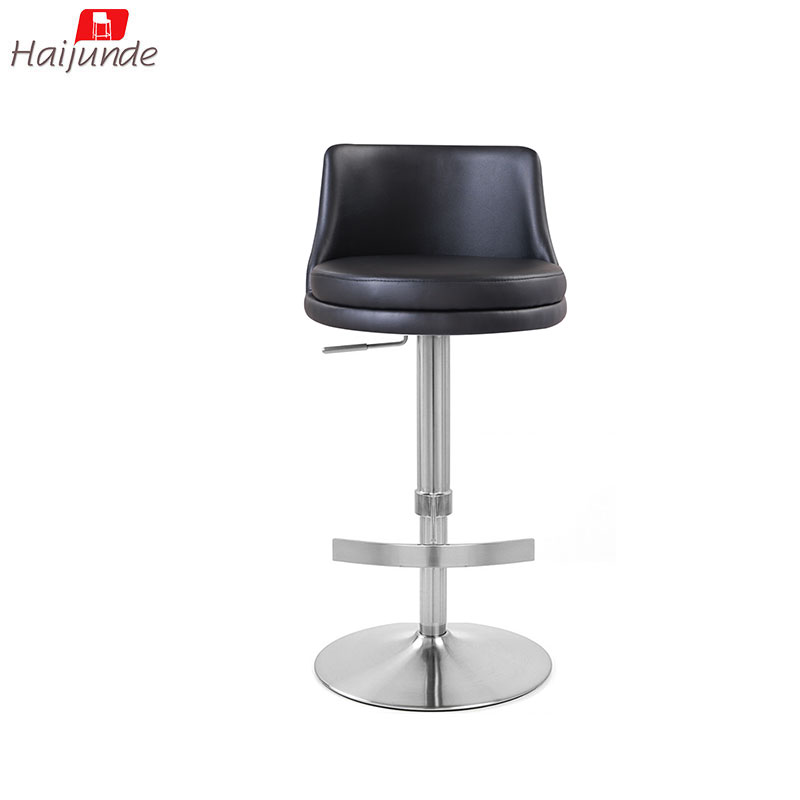 Marvelous Folding Bar Stool Black Color Pu Adjustable Iron With Back Buy Folding Bar Stool High Back Stool Adjustable In Dk Grey Color Kictchen Room Stool Beatyapartments Chair Design Images Beatyapartmentscom