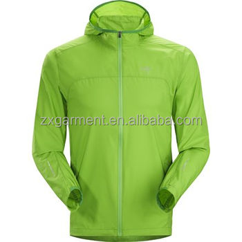 Wind slip heren hooded jassen