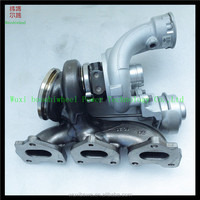new style model ! twin turbos TD04L6-10GFT-F5.0 turbocharger 49477-05001 electric supercharger for Porsche 2.0T 3.0T