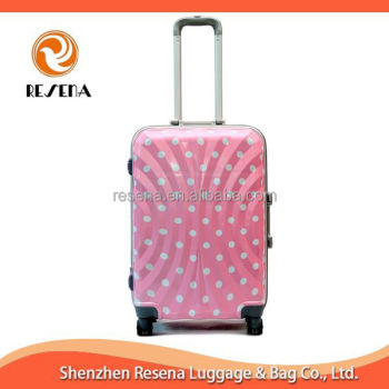 Girls Pink Hard Shell Luggage - Buy Hard Shell Luggage,Pink Hard ...