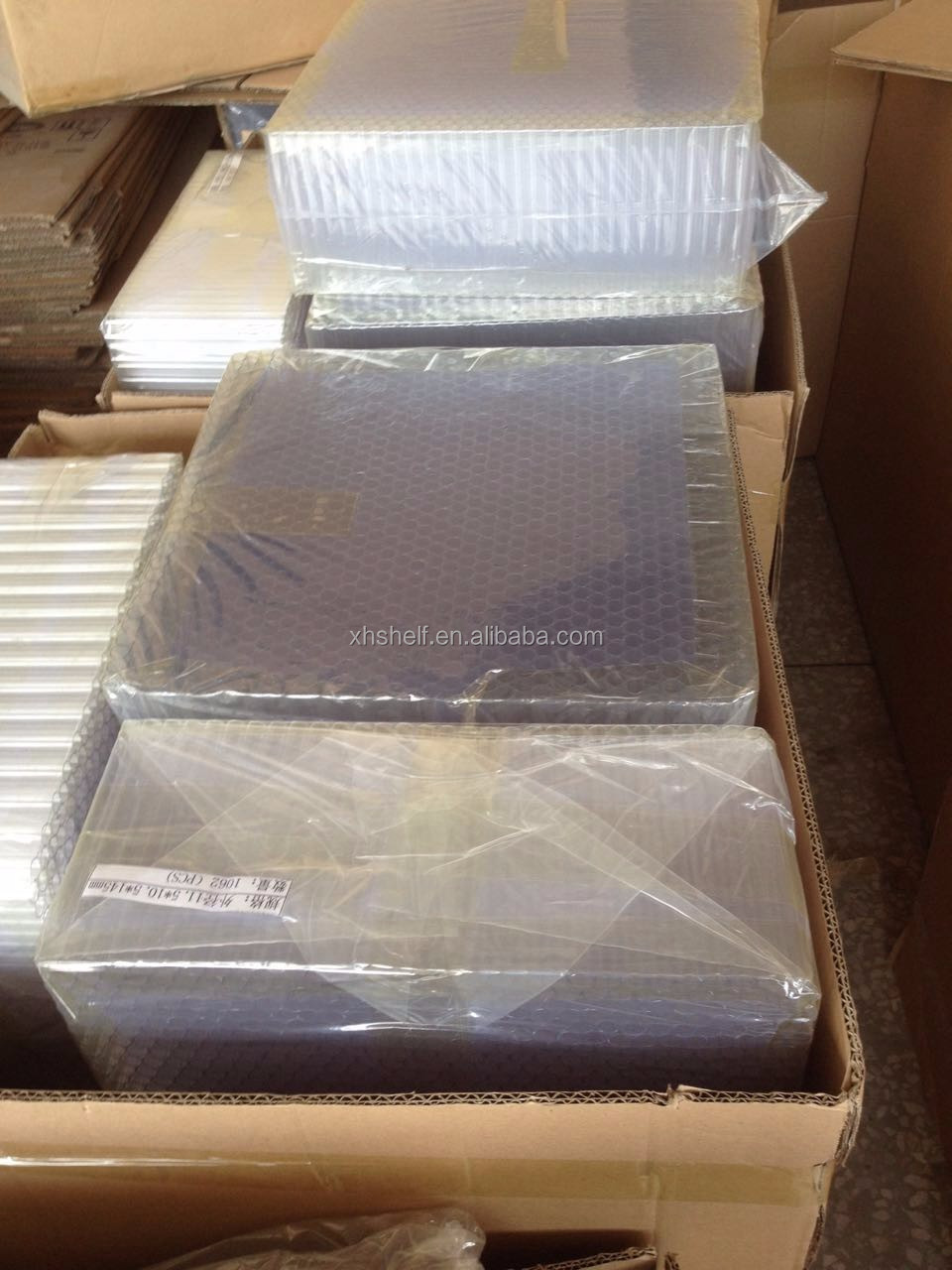 Clear Plastic Packing Tube Pp Pvc Pc Acrylic See