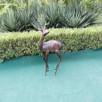 Garden Decoration Animal Theme Aluminium Deer Statues