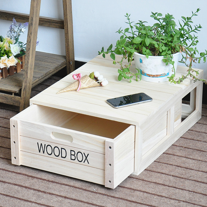 Quality Solid Wood Storage Box Fashion Storage Wine Boxes Hot Sales Woden Products
