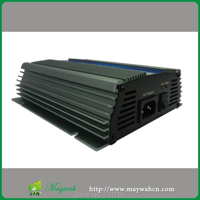 500W Solar Grid Tie Pure Sine Wave Inverter Power Supply,22-60VDC,180-260VAC,50Hz/60Hz For 60cell and 70cell Panels