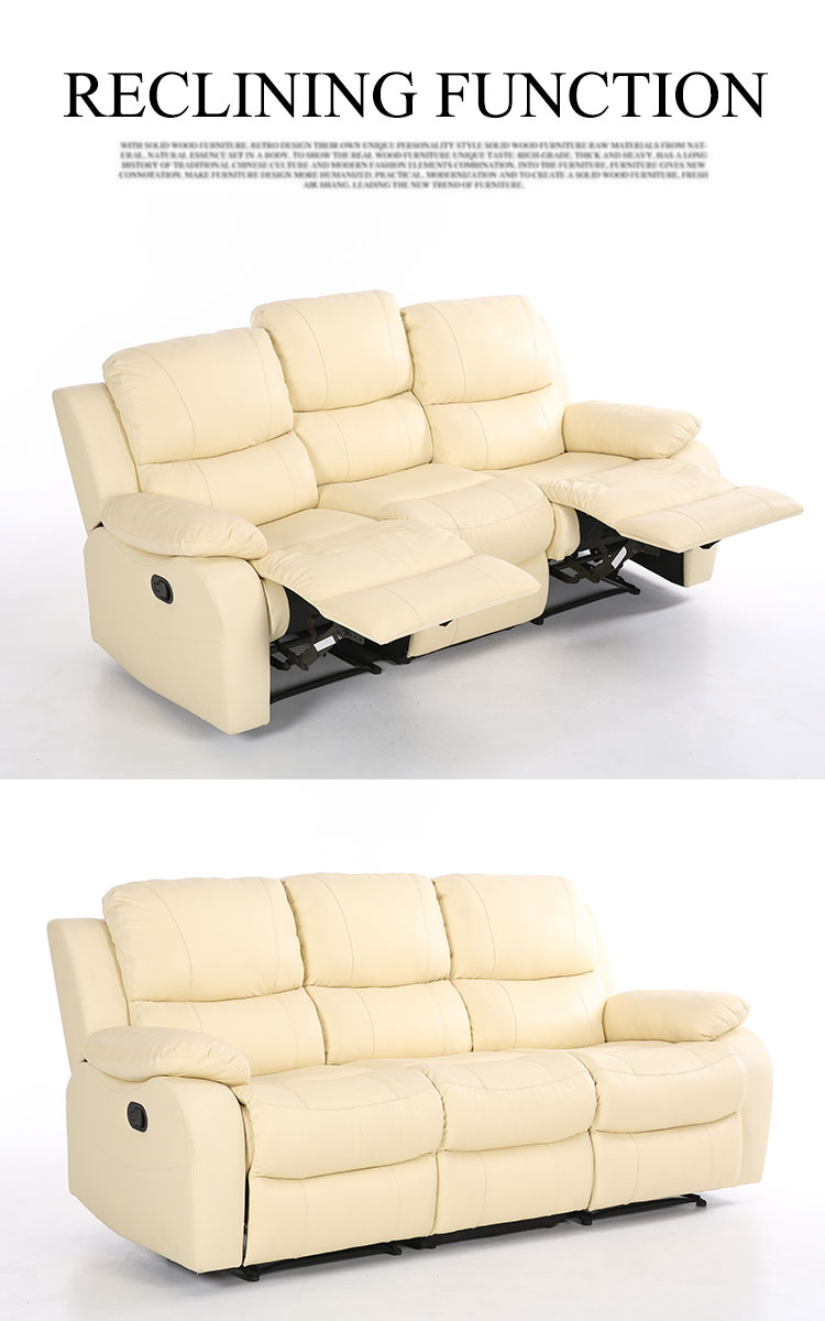 Fabulous Modern Top Grain Leather 3 Seater Recliner Set Electric 2 1 Forskolin Free Trial Chair Design Images Forskolin Free Trialorg
