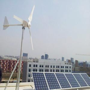5kw Wind Solar Hybrid Power Systems,Horizontal wind solar hybrid system  generator for homes,2kw eolic energy generator