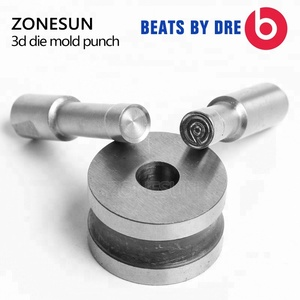 ZONESUN customized Stamp Round Pill Stamp precision punch die mold tablet press tool TDP-5/1.5