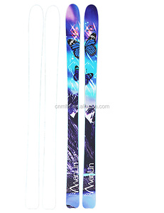 powder alphine downhill freestyle skis