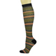 Sublimation printed knee high socks compression sport socks