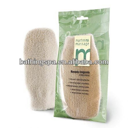 exfoliating bath mitt