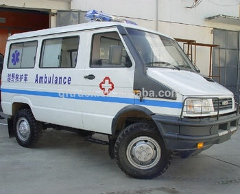 China LHD 4WD Iveco Ambulance with Iveco Diesel Engine