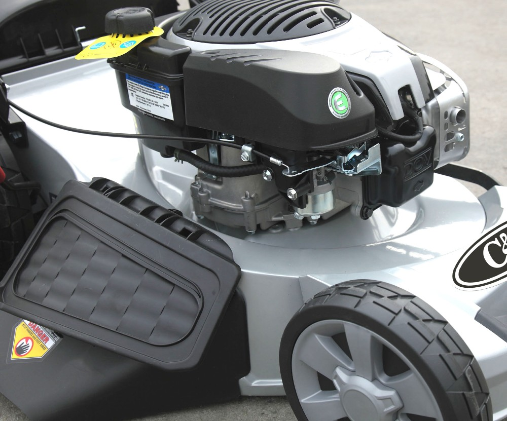 """21"""" 4in1 self propelled lawn mower CJ21G4IN1B775IS - AL with discharge battery"""