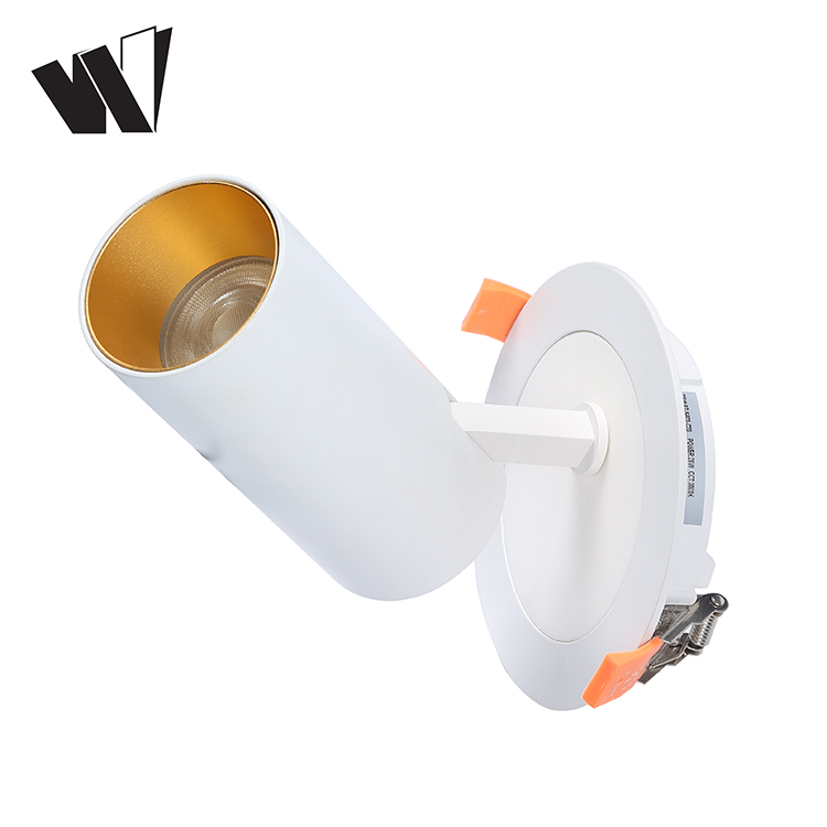 Factory price rotaton and adjustable cob smart 15w 25w 30w 35w recessed led spot down light SAA CE Approved