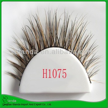 eyelash mink under eyelash and high quality false eyelash