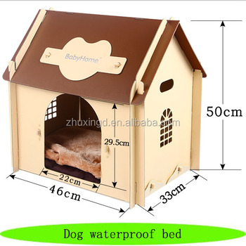Dog waterproof bed, pet bed cover designs, wholesale luxury dog bed