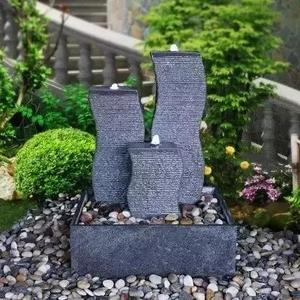 carving natural stone fountain for garden and landscape