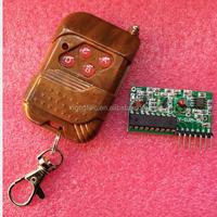 IC 2262/2272 4 CH 315Mhz Key Wireless Remote Control Kits Receiver module