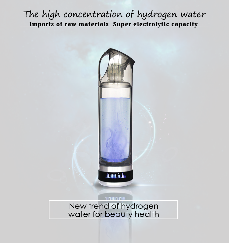 Olansi-Health Hydrogen Water Cup Water Purifier Bottle Camping-OLS-H1
