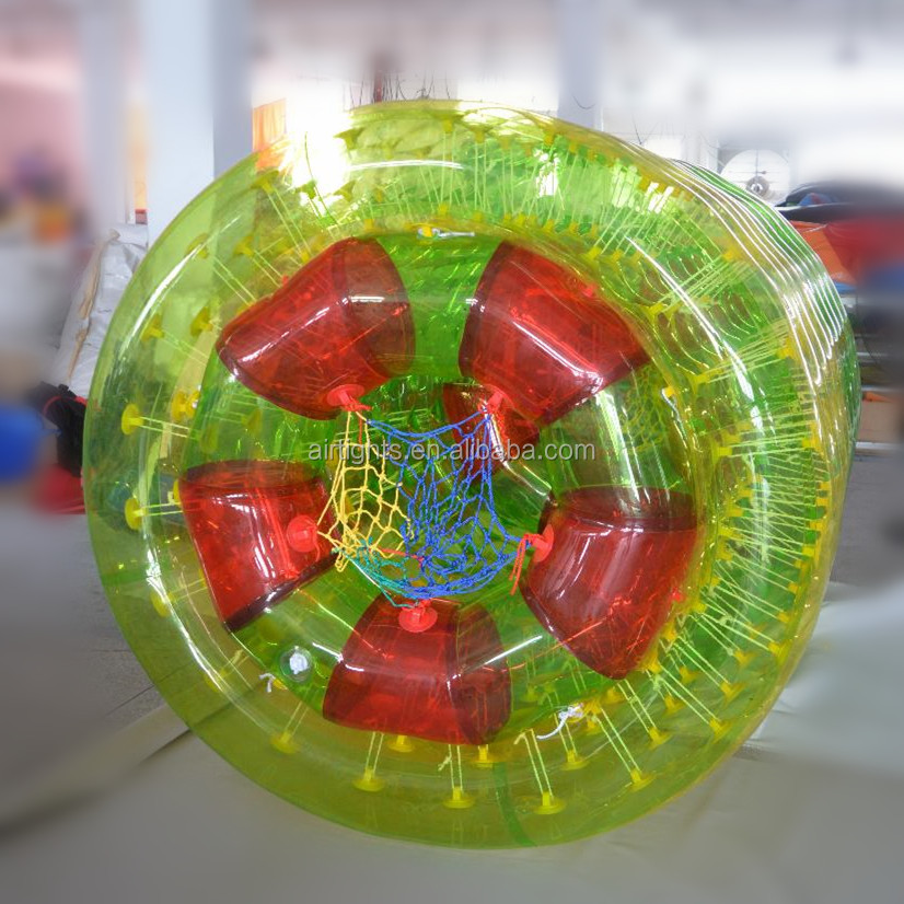 Exciting sport games water zorb ball /aqua rolling tube