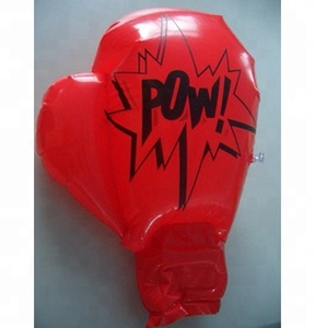 Custom Printing Plastic Inflatable Boxing Gloves