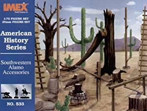 IMEX 533 1/72 Alamo Accessory Set IMXS0533