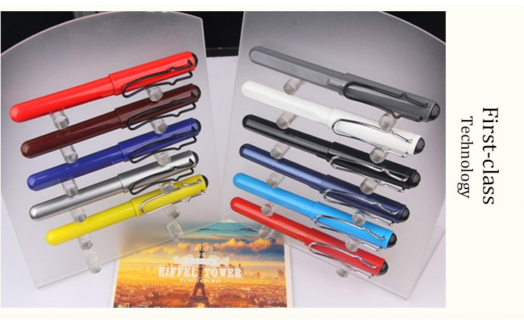 Free samples gel pen 4 colors promotional products cheap fountain pens