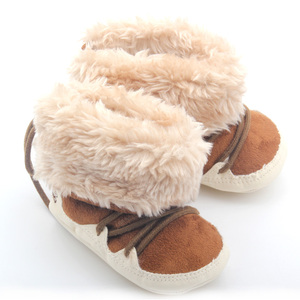 2017 Newborn baby warm winter house baby kids boots shoes