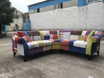 Patchwork Sofa Sectional Sofa Corner Sofa - Buy Patchwork Sofa ...