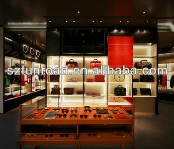 Kledingwinkel Interieur Met Houten Display Rack - Buy Kledingwinkel ...