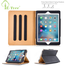 Wholesale Custom Magnetic Leather PU Tablet Cover Case For Apple iPad Air 2