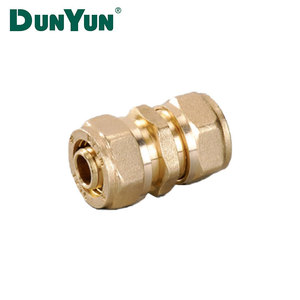 Factory Supply Brass Copper Compression Fitting For Pex Pipe