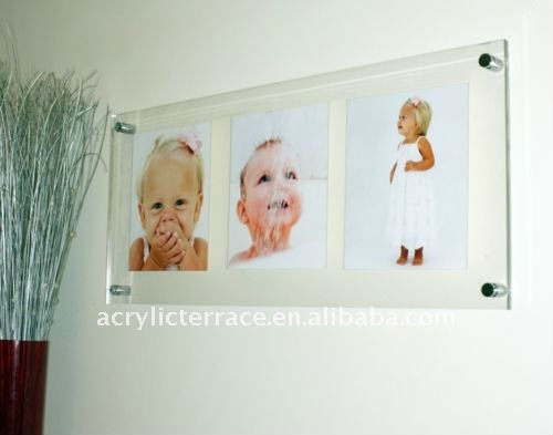 Wall-mounted Acrylic Picture Frame
