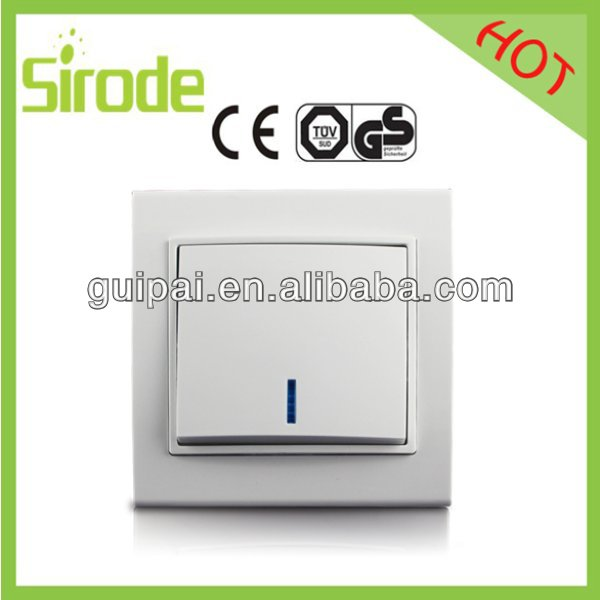 One Gang One Way 220V Light Modern Wall Switch