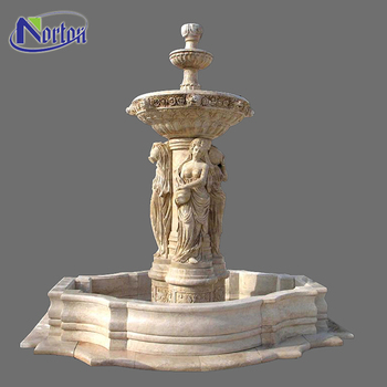 Large Garden Nude Woman Stone Fountain For Square Ntmfo 002y   Buy Stone  Fountain,Garden Stone Water Fountain,Natural Stone Garden Fountains Product  ...