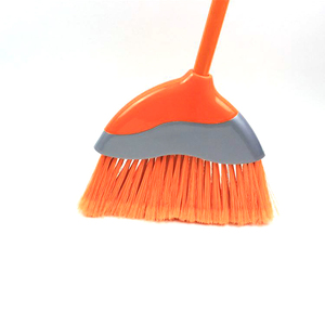 China Factory Low Price Sweep Easy Plastic Broom Stick, Cleaning Magic Angle Bristle Broom