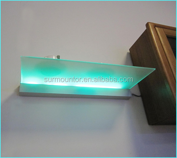 Led glass shelf aluminum profile g004 buy led glass for Ultra glass sacramento ca