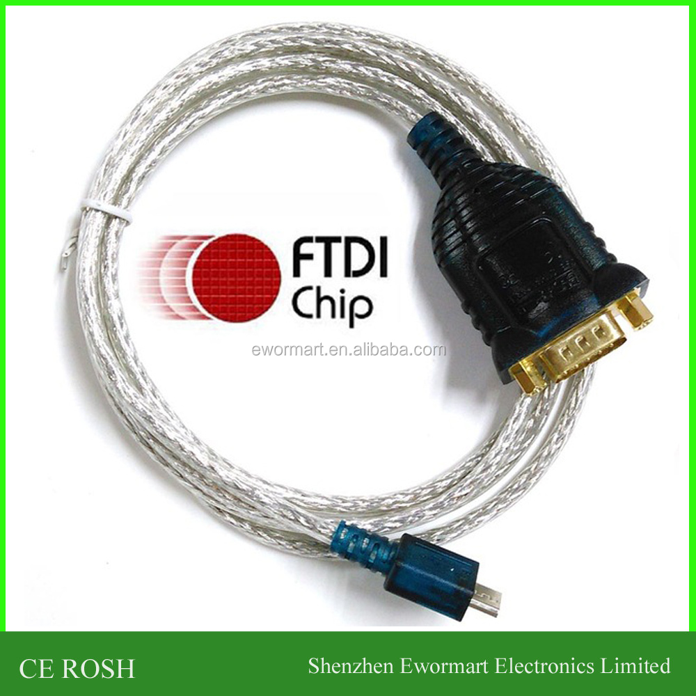 ftdi usb rs232 cable with db9 male full pinout compatible with uc232 us232 micro usb serial cable type c serial cable