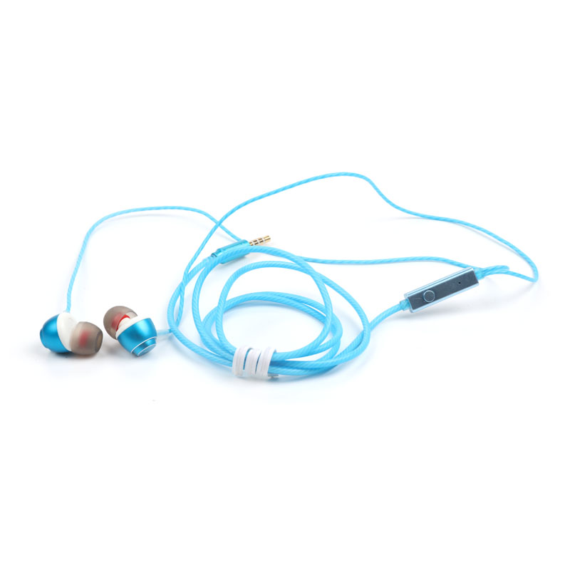 Newest and fashion Metal Earphone With Mic For Mobile Phone High Quality In Ear earphones headphones