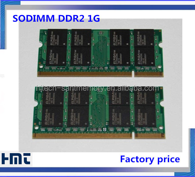 low price sodimm pc800 ddr2 1gb ram with Free oem logo and stickers