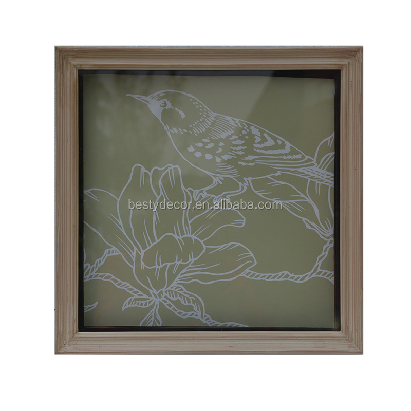 customized cheap hot sale photo wood frame for home decor