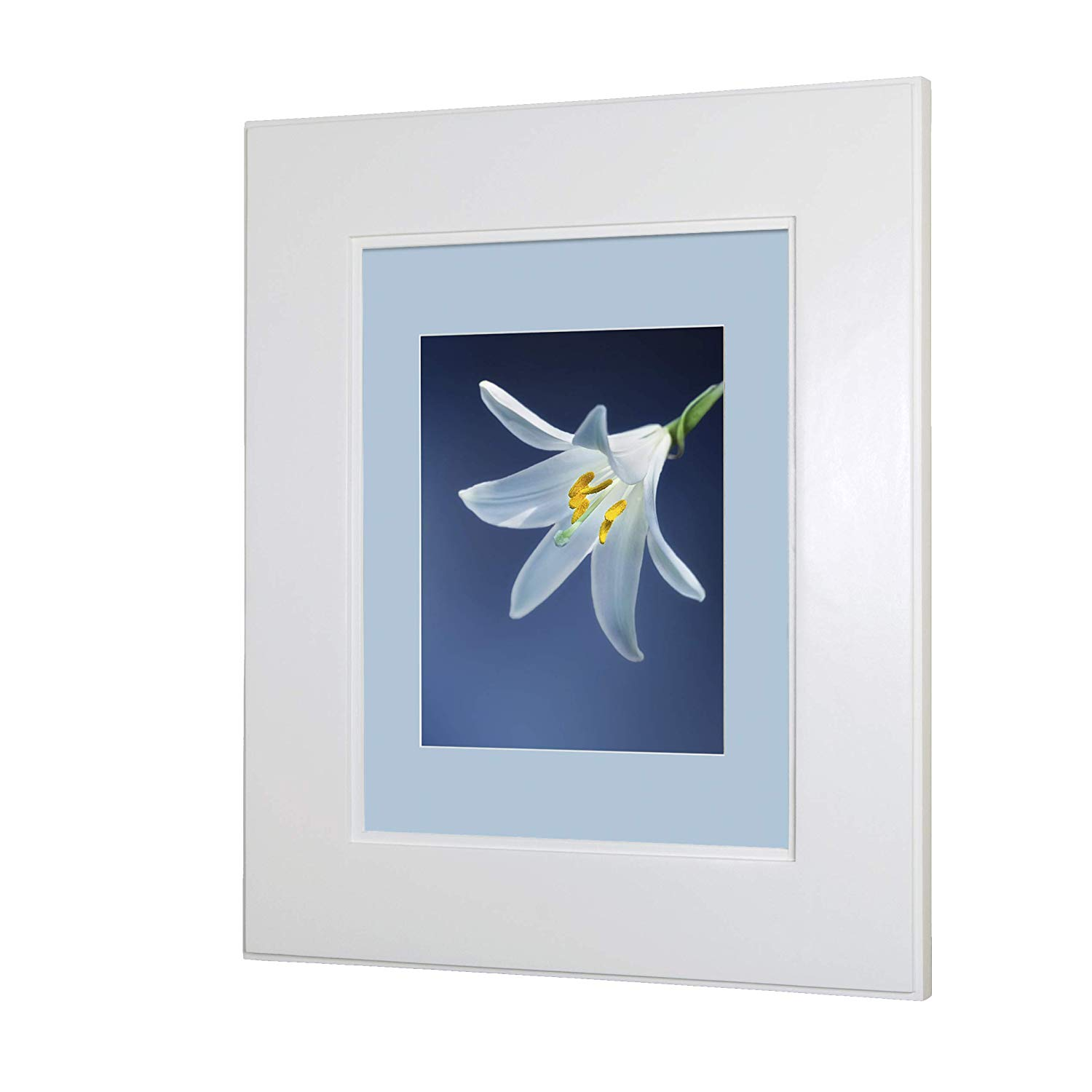 """Regular White Shaker Style Recessed Picture Frame Medicine Cabinet (13 1/8"""" x 16"""")"""