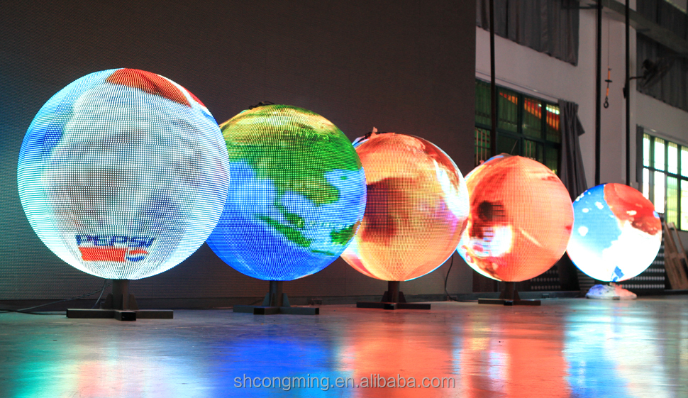 Indoor Global Led Display / Circular Led Display And ...