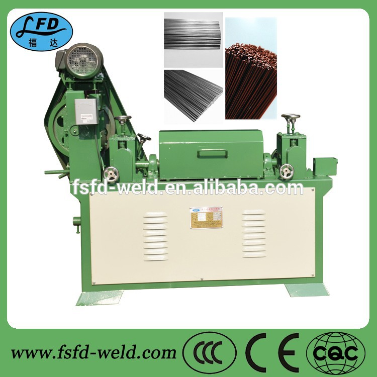 Wire use and straightener & cutter type fully automatic wire straightening cutting machine