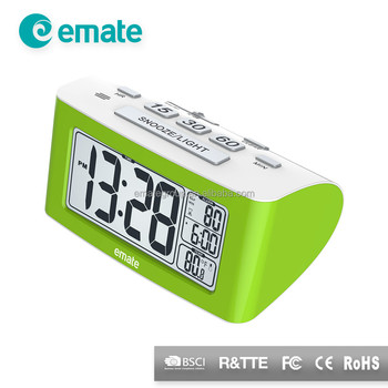 Useful Digital Desktop Alarm Clock With 360 Minute Countdown Timer