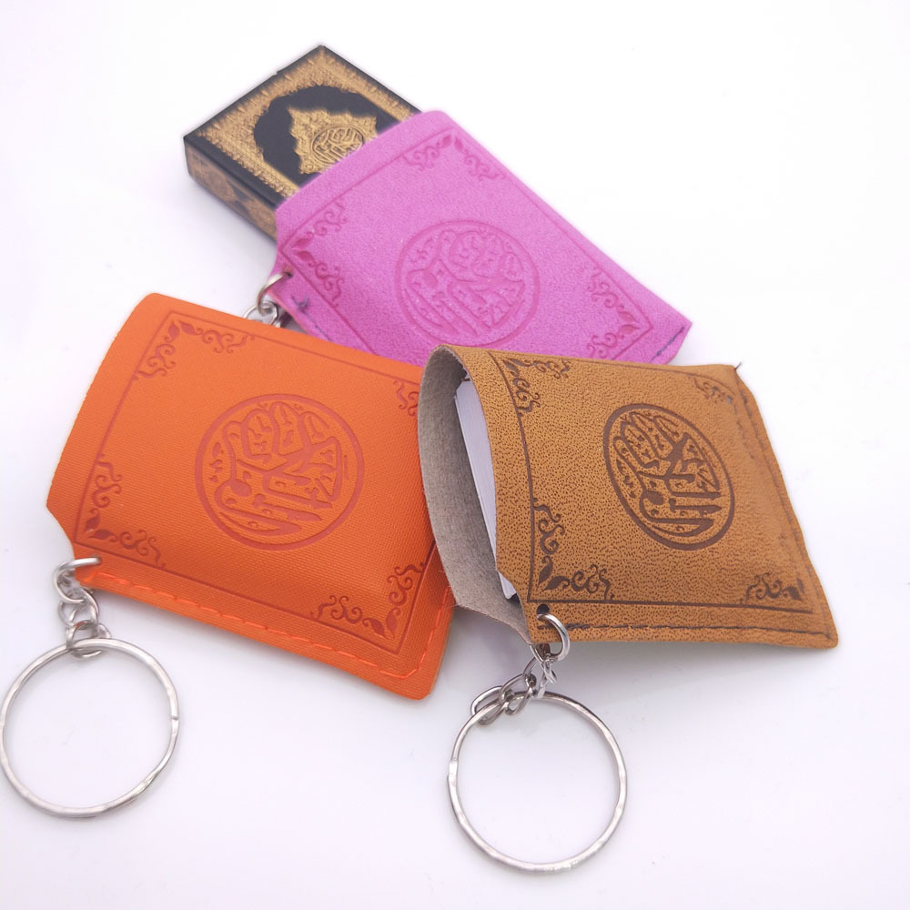 custom mini holy bible keychain