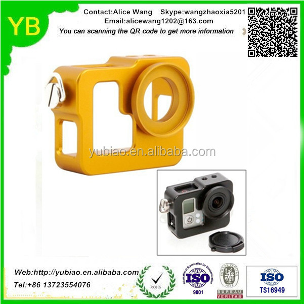 Custom cnc machine unique sport camera accessories in Guangdong,ISO9001/TS16949 passed